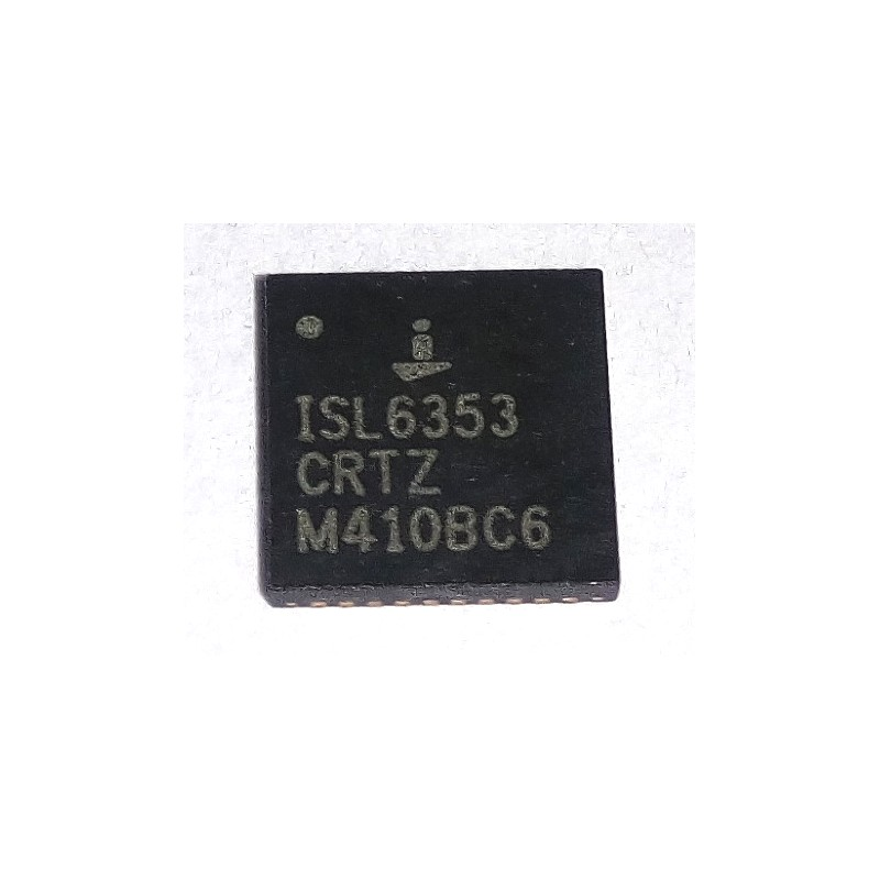 ISL6353 CRTZ Multiphase PWM Regulator