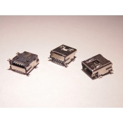 Mini USB Buchse Typ-B 5 Pin für Tablet, Handy, Navi (kd5)
