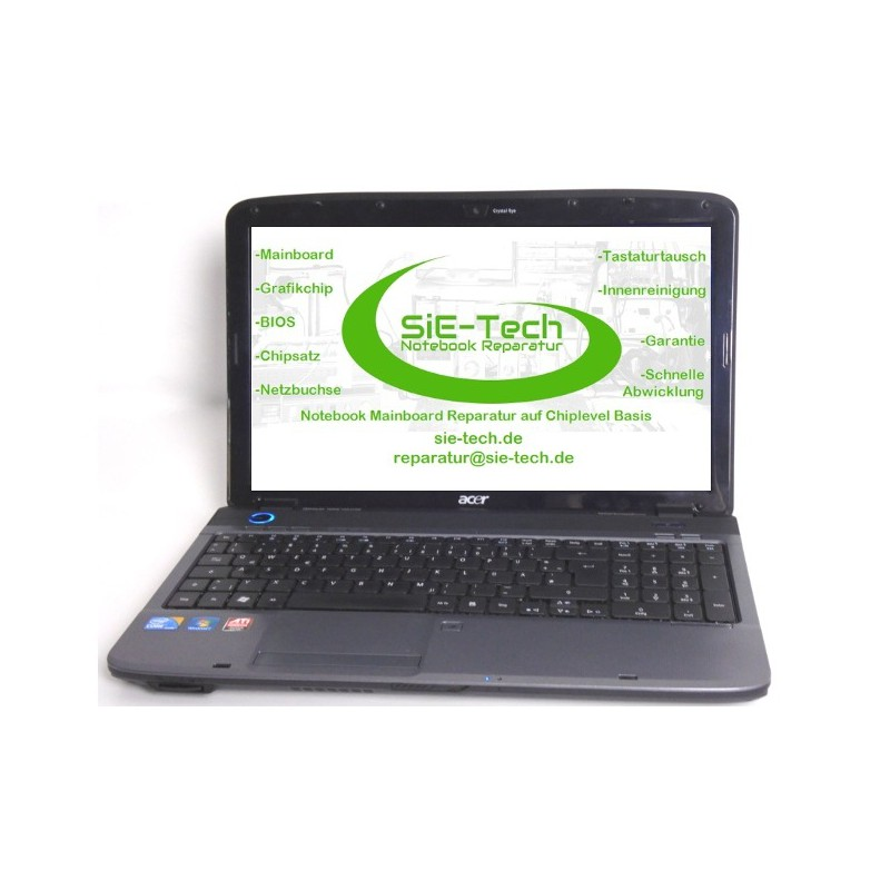 Acer Aspire 5740, 5740g, 5740dg Mainboard Reparatur