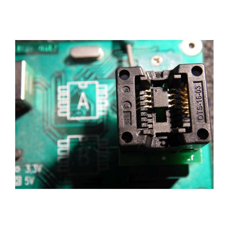 Dell Notebook BIOS Reparatur, BIOS Chip Programmierung