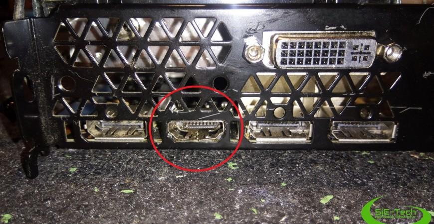 HDMI Anschluss Reparatur