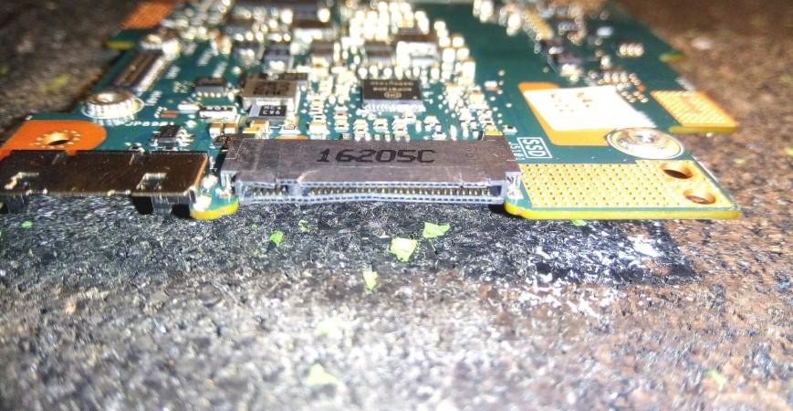 M.2 SSD Anschluss getauscht